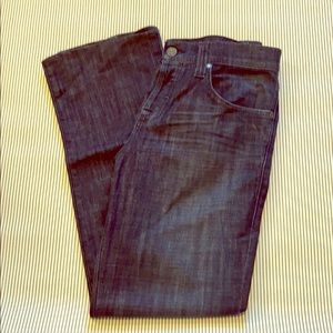 Rock&Republic jeans dark, straight with button fly
